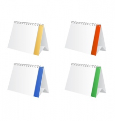 table calendar vector image vector image