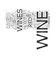 Wine text word cloud concept vector