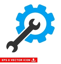 Setup Tools Eps Icon vector image