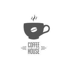 Coffe house design vector