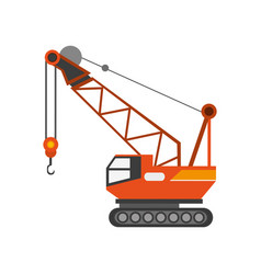 Industrial crane icon vector
