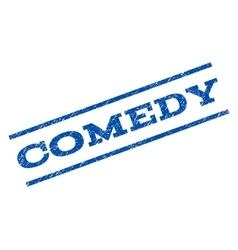 Comedy watermark stamp vector