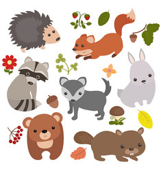 Forest animals forest animals vector
