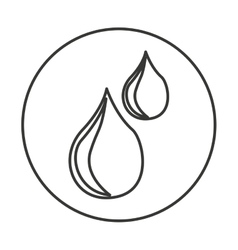 oil industry isolated icon vector image