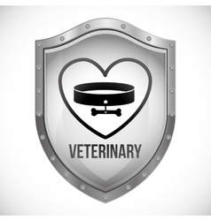 Vet clinic design vector