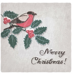 Christmas hand-drawn grungy background vector