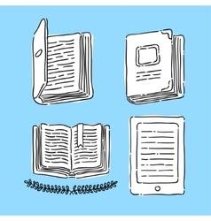 Symbol Book vector image