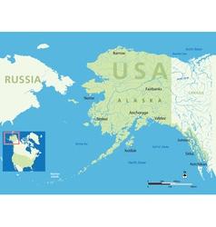 Alaska small vector image vector image