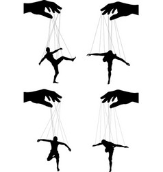 Marionettes vector