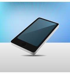 Realistic 3D View Modern Mobile Phone vector image vector image