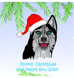 puppy animal concept of chinese new year of the do vector image