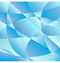 Blue polygonal curved texture design vector