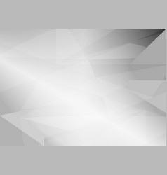 abstract gray triangular background with copy vector image