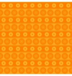 Seamless pattern with circles and lines vector