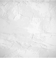 Abstract white old grunge wall background vector