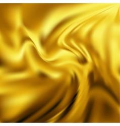 Abstract Texture Yellow Silk vector image vector image