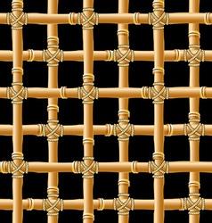 Bamboo trellis vector