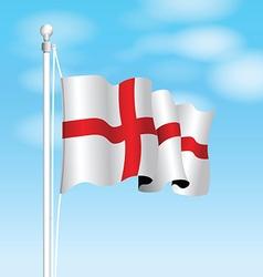england flag vector image vector image