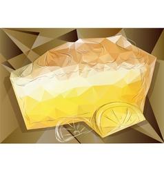 Lemon pie vector