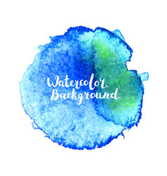 Watercolor brush stroke vector