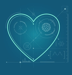 Heart preview vector