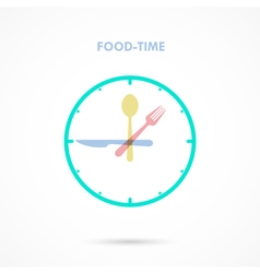Food time vector
