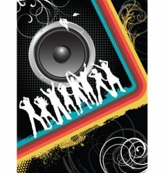Disco people vector