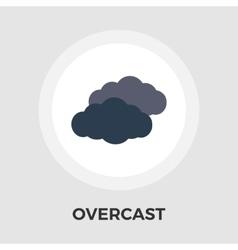 Overcast icon vector image