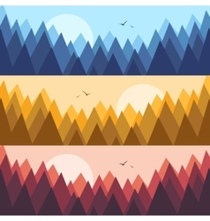 Camping wild forest and wildlife vector