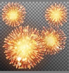 Festive firework effect eps 10 vector