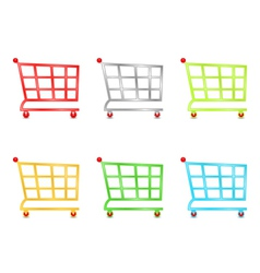 Shooping carts vector
