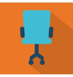 Office chair design vector