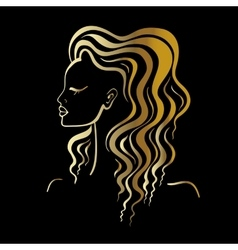 Beautiful Woman Portrait vector image