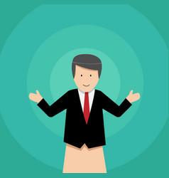 Businessman puppet dolls design vector
