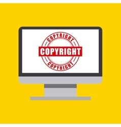 Computer icon copyright design graphic vector