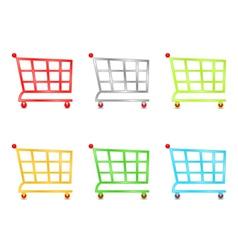 Shooping carts vector