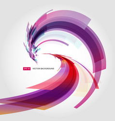 Abstract background element in pink and purple vector