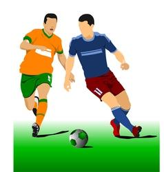 al 0214 football 03 vector image