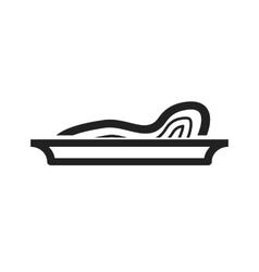 Chicken Pasta vector image