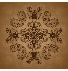 Indian vintage ornament vector