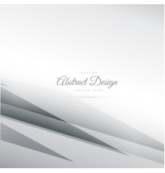 Abstract gray background with geometrical lines vector