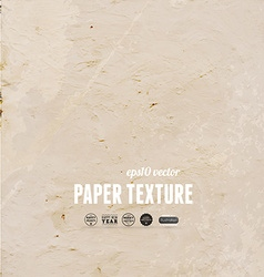 Aged paper textured background vector