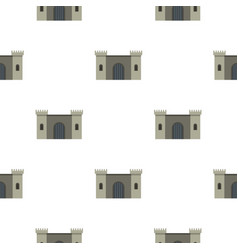 Ancient fortress pattern seamless vector