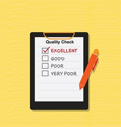 Quality Check vector image