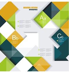 Modern design vector