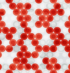 Blood seamless pattern vector
