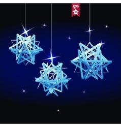 Geometric christmas ball holidays background vector