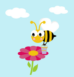 Working bee vector