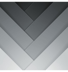 Abstract grey crossing rectangle shapes background vector