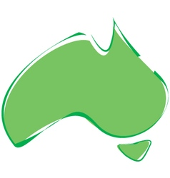 Abstract australia vector